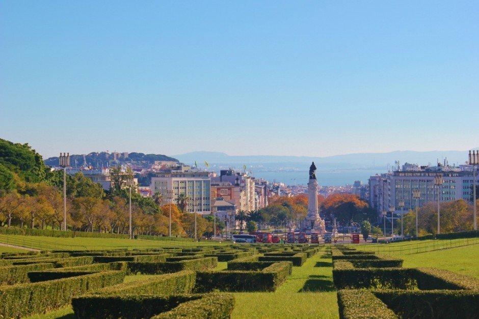 Scenic Viewpoints in Lisbon #7: Miradouro do Parque Eduardo VII