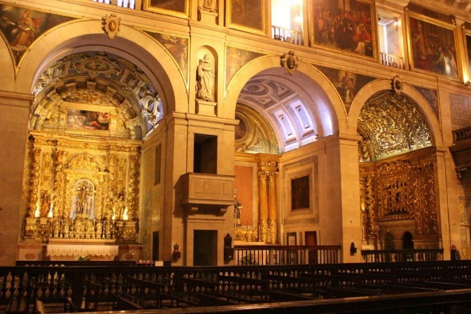 Church of Sao Roque in Lisbon, Portugal
