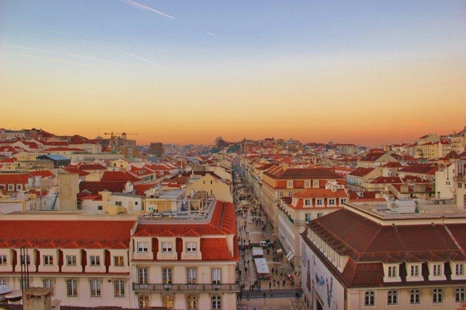 Scenic Viewpoints in Lisbon #8: Arco da Rua Augusta