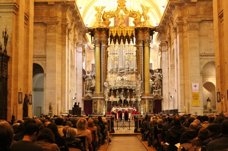 Sao Vicente de Fora organ concert