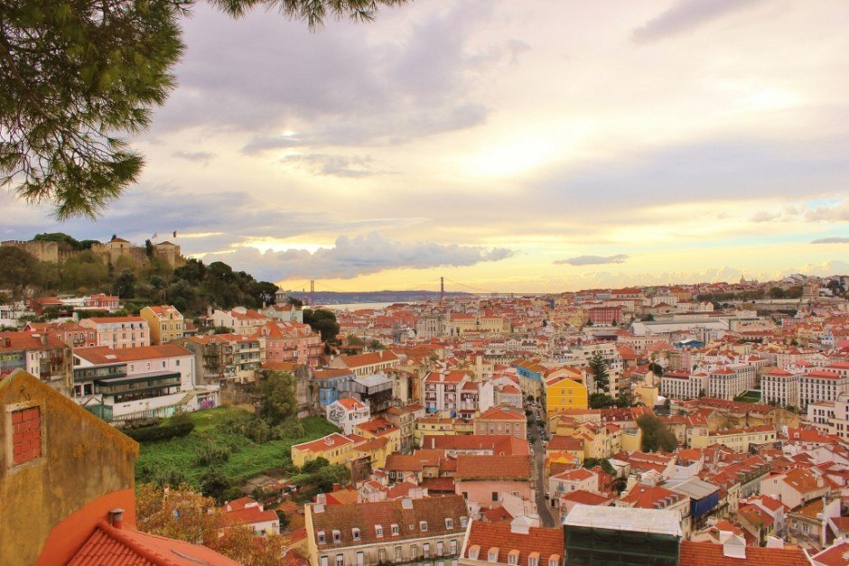 Scenic Viewpoints in Lisbon #1: Miradouro da Graca