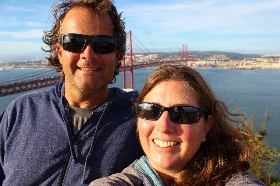 Jetsetting Fools at Lisbon's Cristo Rei