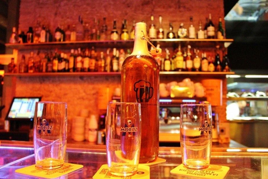 Beer Hall in Barcelona: Cerveseria Moritz