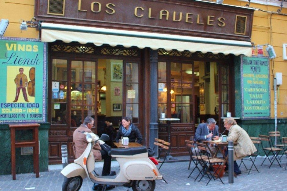 Tapas bars in Seville, Spain