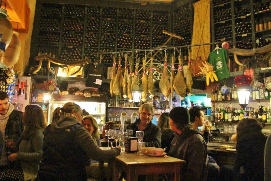 Tapas Bars in Seville, Spain: La Alfalfa