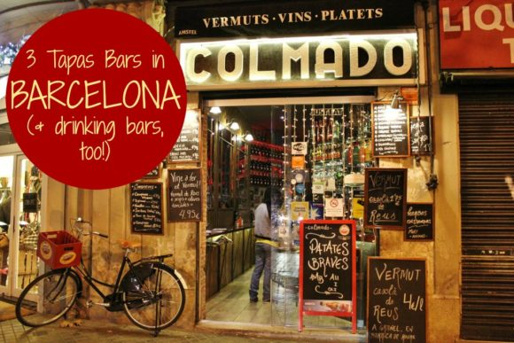 3 Tapas Bars in Barcelona, Spain JetSettingFools.com