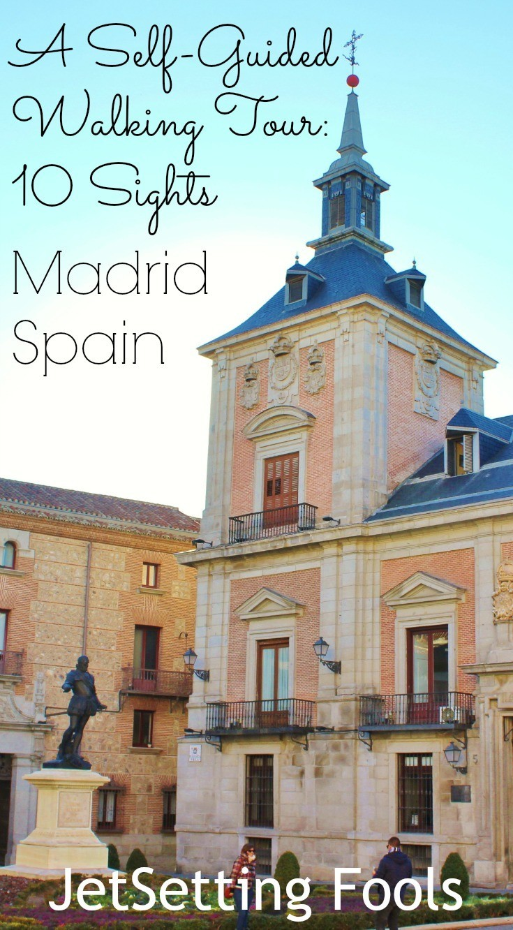 Madrids Walk of Art: A Self-guided Pictorial Sightseeing Tour (Visual Travel Tours Book 4)