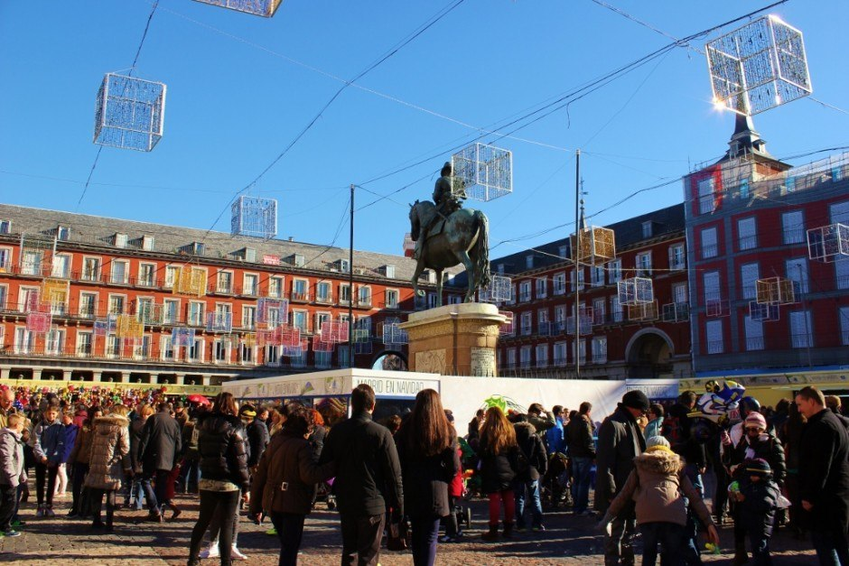 A Self-Guided Walking Tour to Sights in Madrid #2 Plaza Mayor