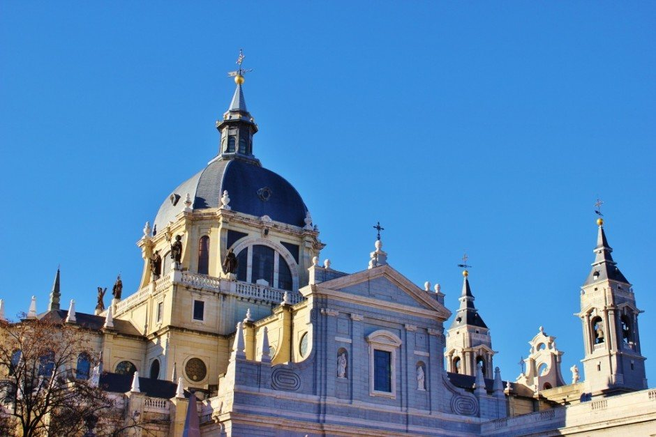 A Self-Guided Walking Tour to Sights in Madrid #5: Almudena Cathedral