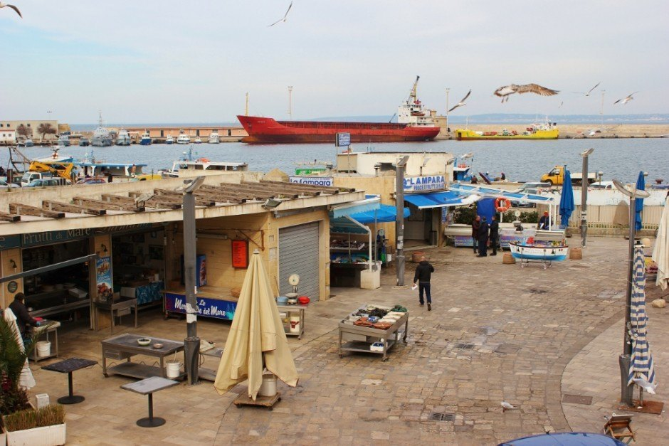 Day trip to Gallipoli, Italy: Fish Market