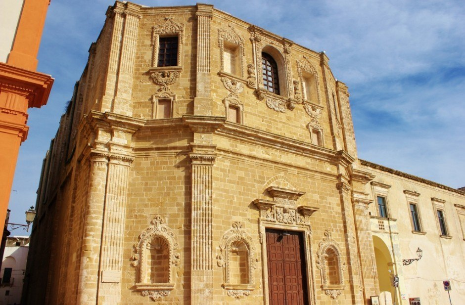Day trip to Gallipoli, Italy: Chiesa di San Domenico al Rosario
