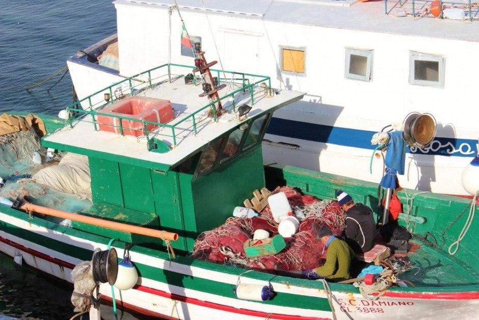 Day trip to Gallipoli, Italy: Fishermen Port