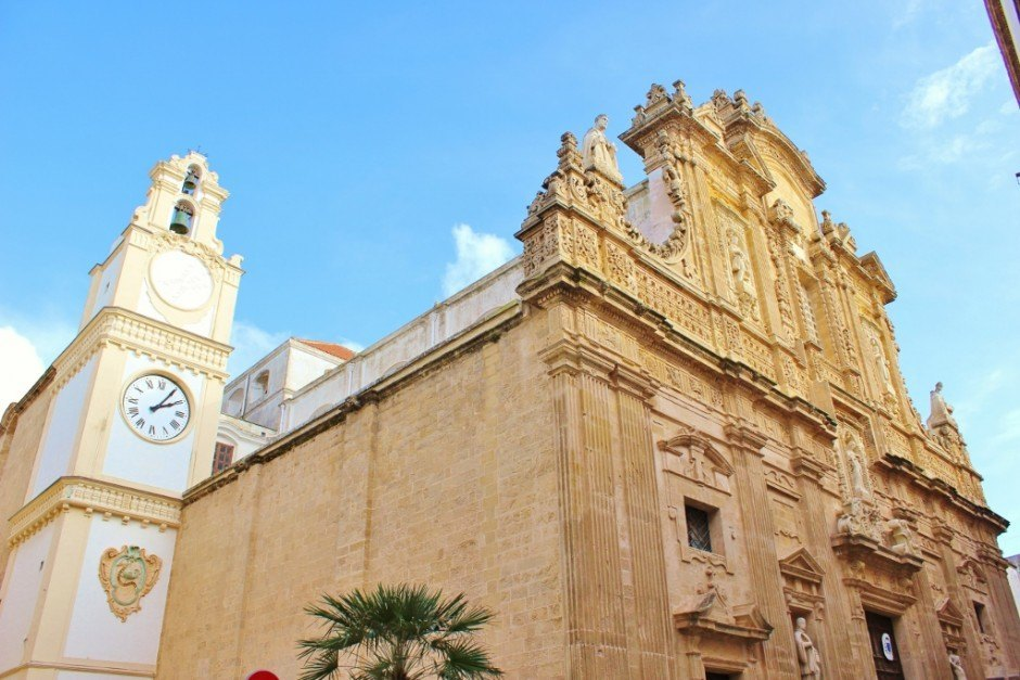 Day trip to Gallipoli, Italy: Cathedral - Cattedrale di Sant'Agata