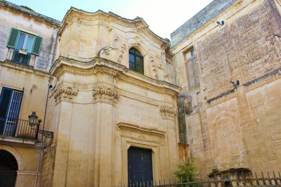 Churches of Lecce, Italy: Chiesa di Santa Maria della Pace