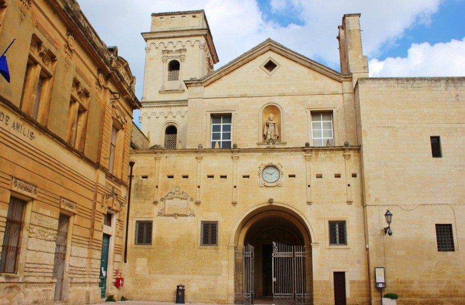 Chiesa e Monastero di San Giovanni Evangelista in Lecce, Italy
