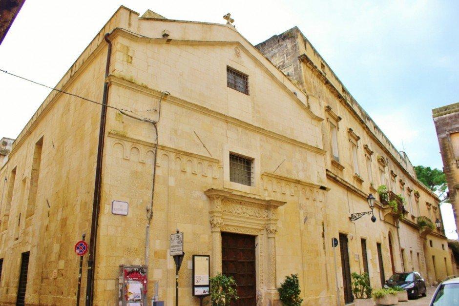 Chiesa di San Sebastiano church in Lecce, Italy