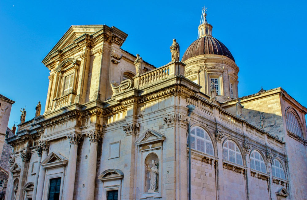 The grand Dubrovnik Cathedral
