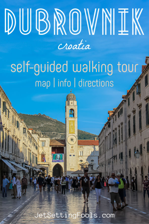 Dubrovnik, Croatia Walking Tour by JetSettingFools.com