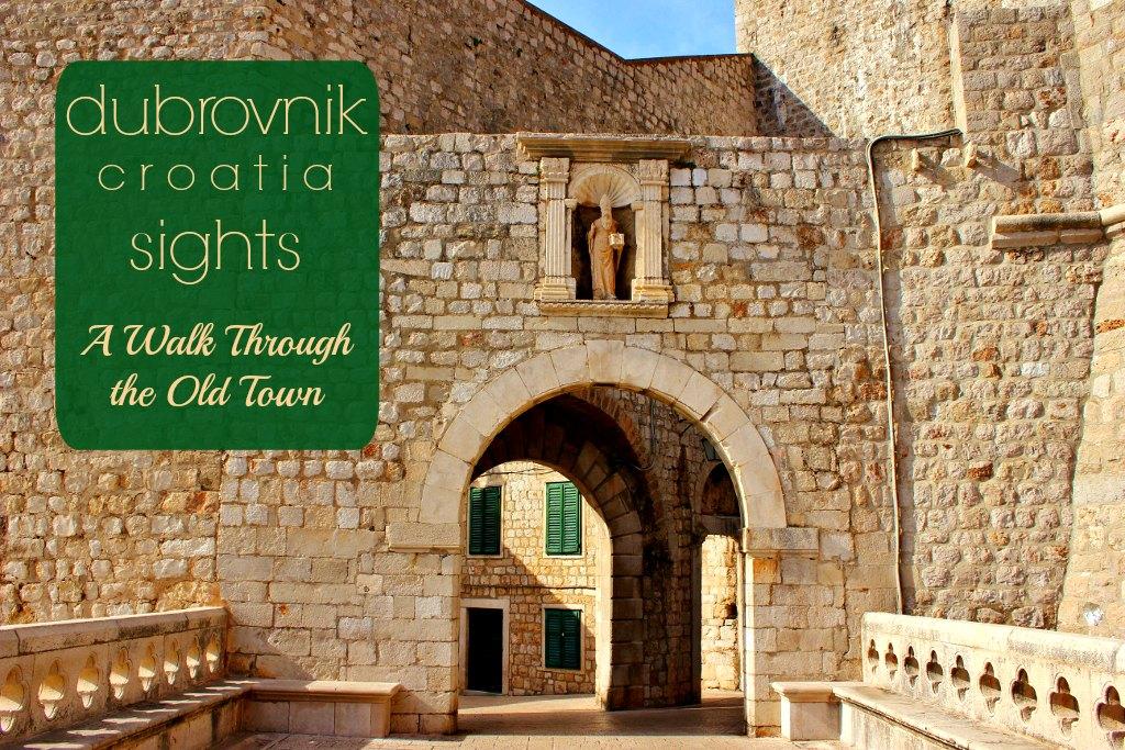 Dubrovnik Sights a Walk Through the Old Town Croatia JetSettingFools.com