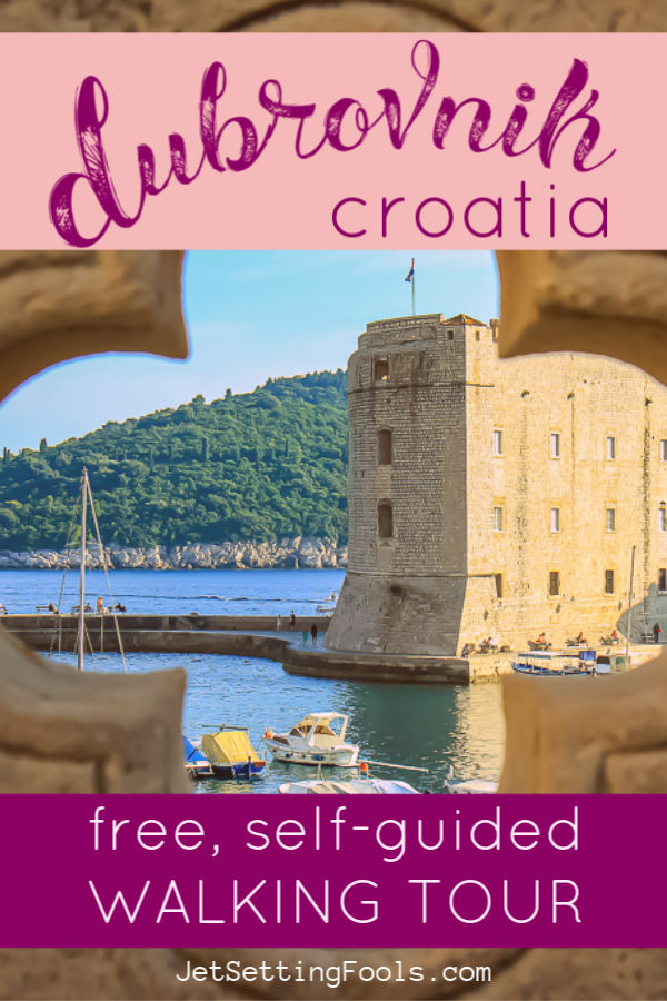 Dubrovnik Walking Tour Free Self Guided by JetSettingFools.com