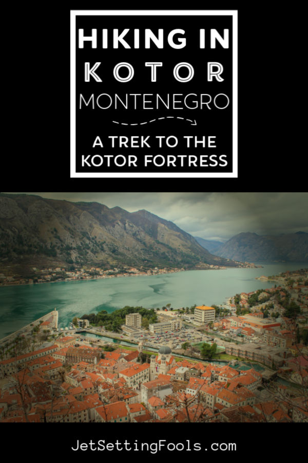 Hike to Kotor Fortress by JetSettingFools.com