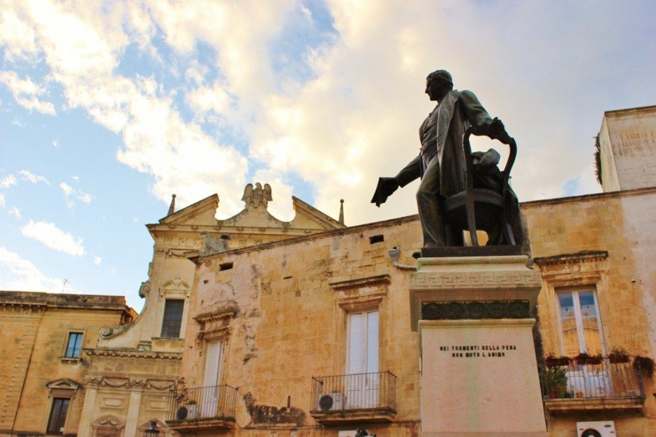 During our month-long stay in Lecce, we passed through this square more times than we can count!