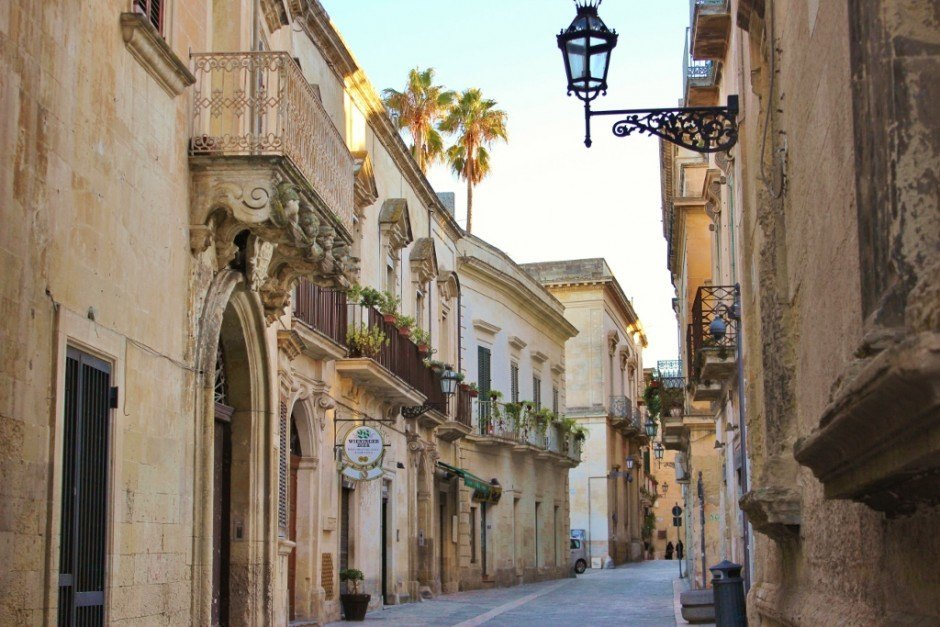 During our month-long stay in Lecce, we got used to the streets emptying out every afternoon.