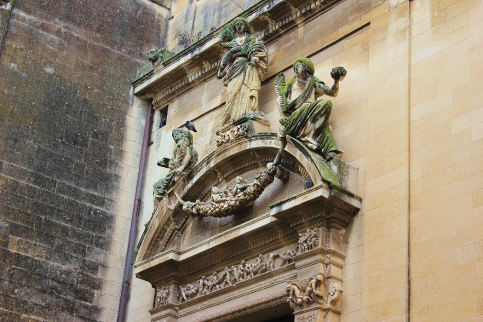 Our month-long stay in Lecce allowed us time to really see the beautiful architecture of the city.