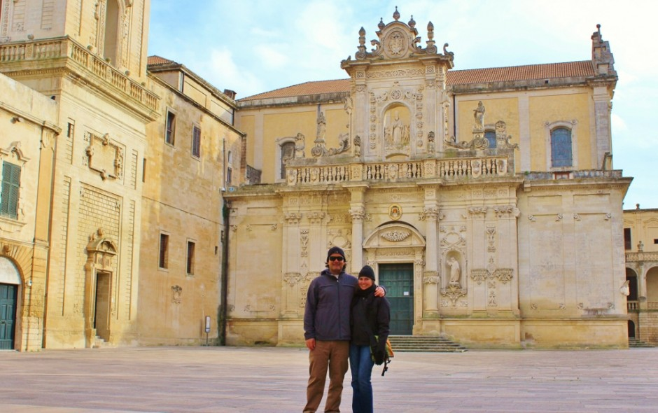 During our month-long stay in Lecce, we timed our visits to the most popular squares when we knew they would be empty.