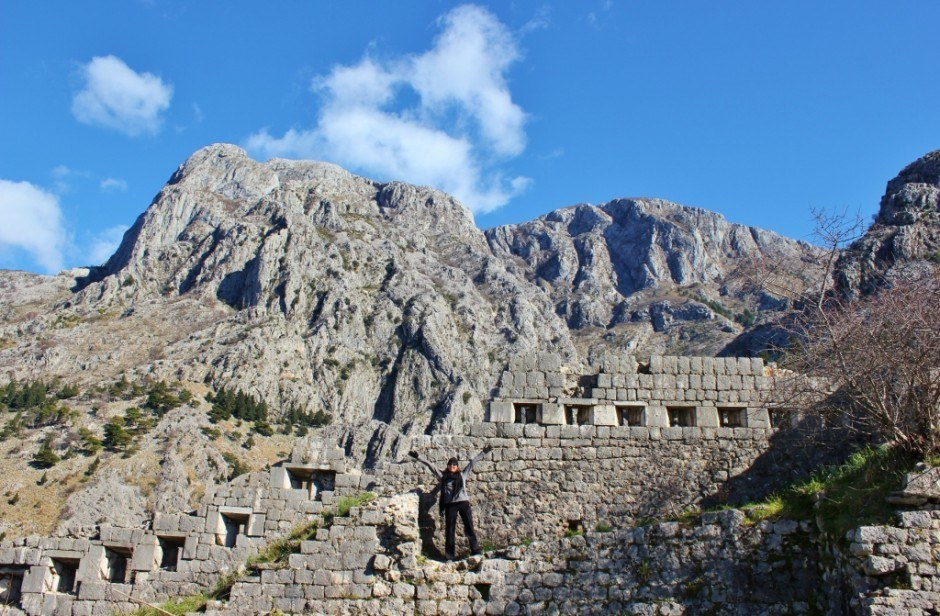 Hiking in Kotor: The walls of Kotor