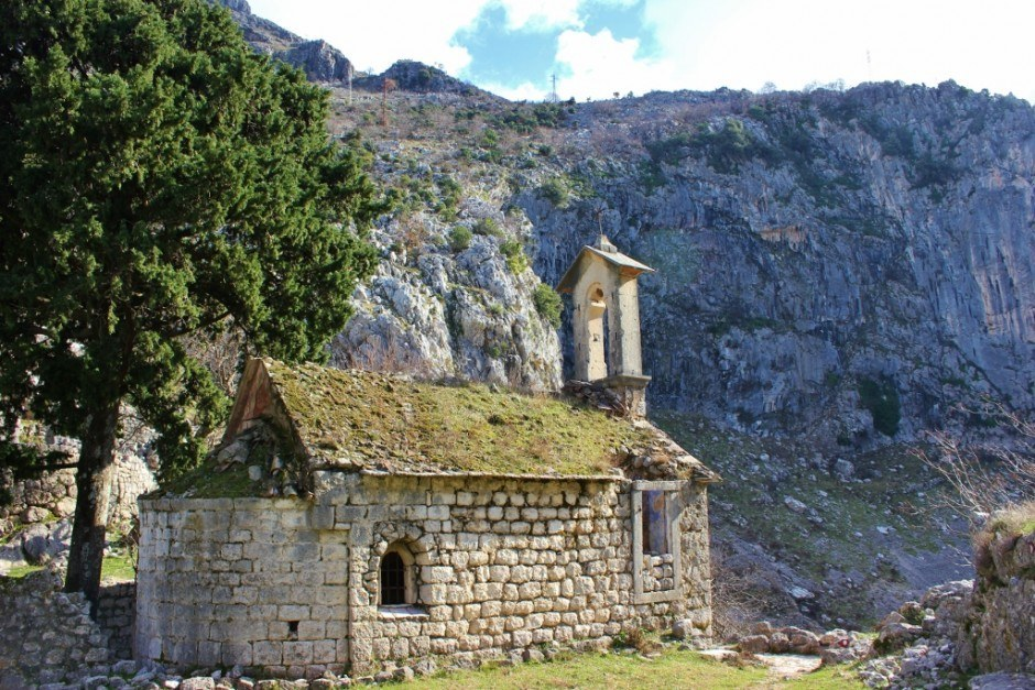 Hiking in Kotor: St. George Catholic Church