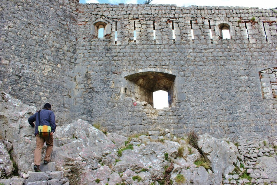 Hiking in Kotor: Making our way back through the walls