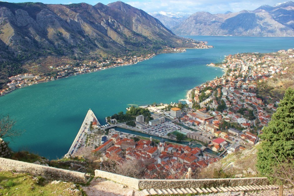 Hiking in Kotor: Stunning views of the Bay of Kotor