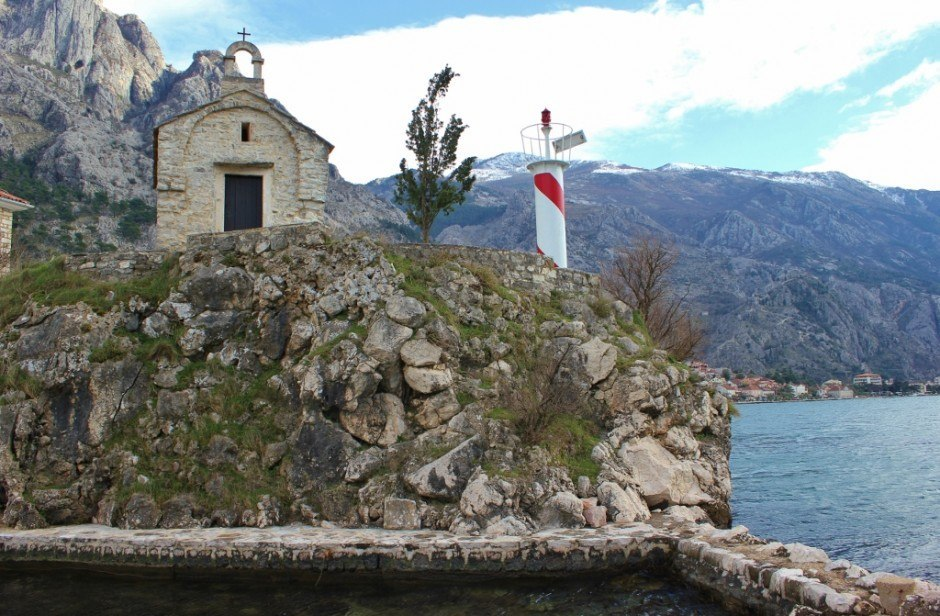 St. Elijah, a historic church in Kotor, Montenegro