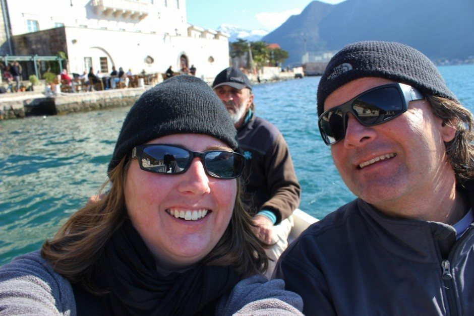 Perast: Boat ride to the off shore islands