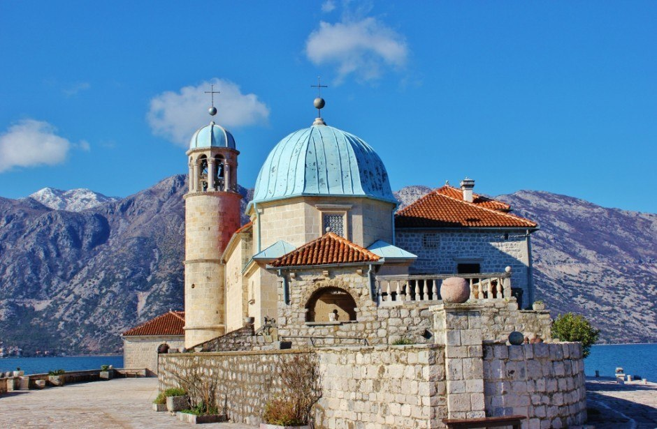 Perast: Lady of Our Rock Catholic Church