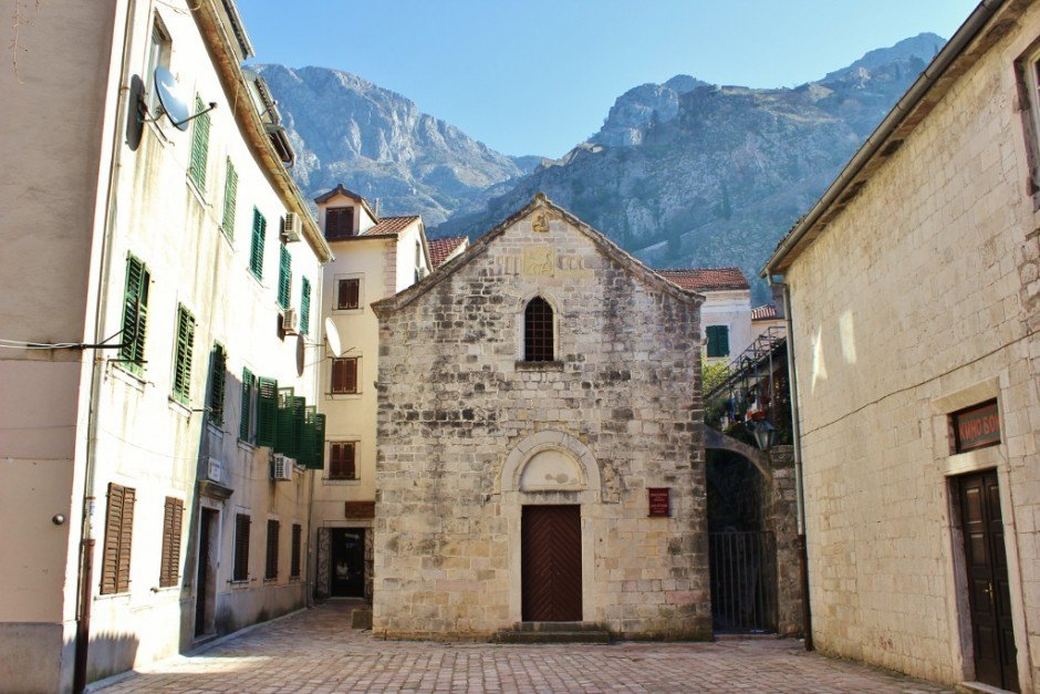 St. Michael's, a historic church in Kotor, Montenegro