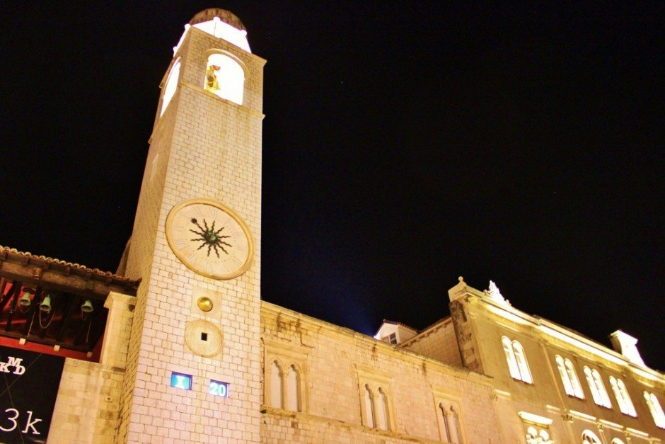 Dubrovnik sights: bell tower