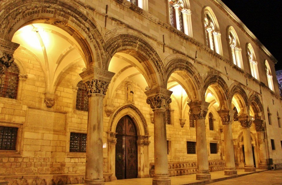 Dubrovnik sights: Rector's Palace