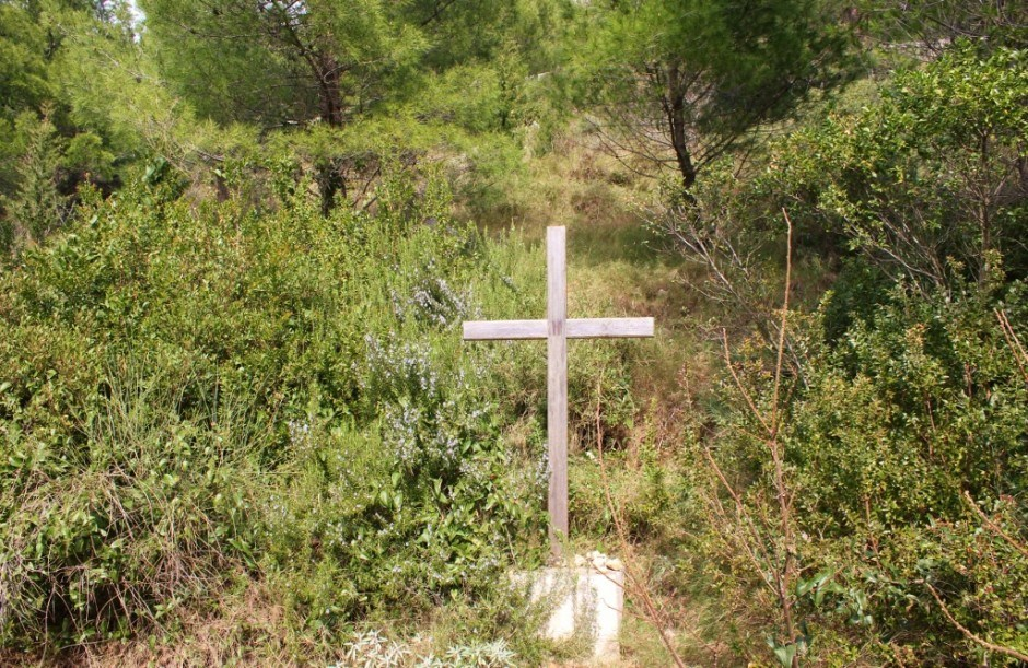 Hiking Mount Srd follows the Stations of the Cross