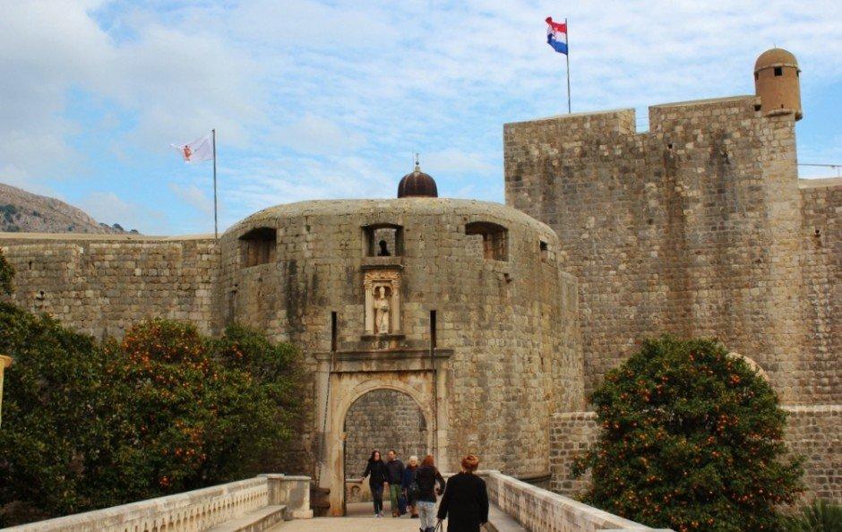 Dubrovnik sights: Pile Gate