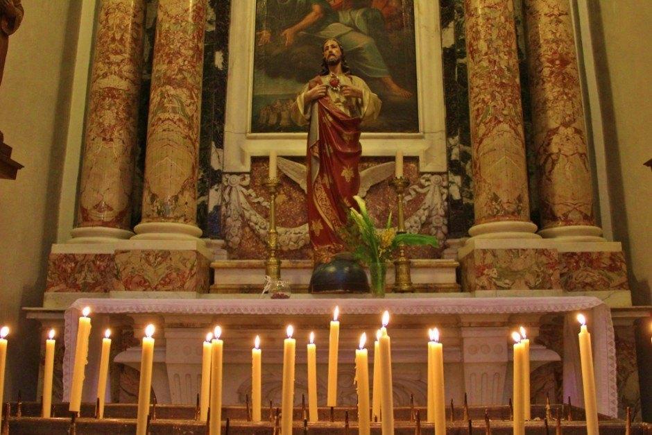 Dubrovnik sights: Cathedral inside