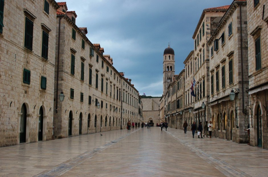 Dubrovnik sights: The Stradun