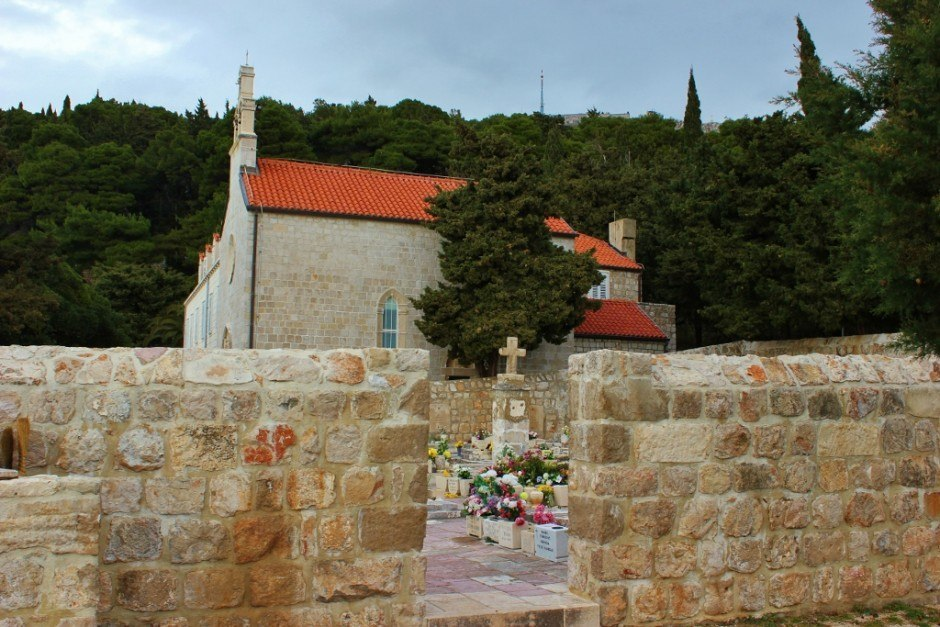 Dubrovnik nature walk to a small church