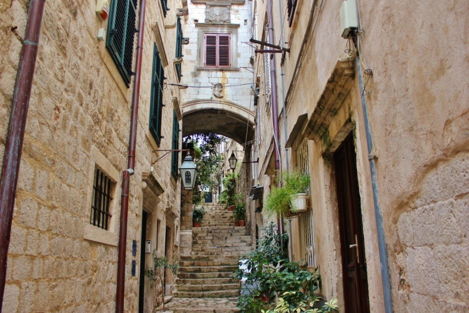 Dubrovnik Sights: Streets and stairs