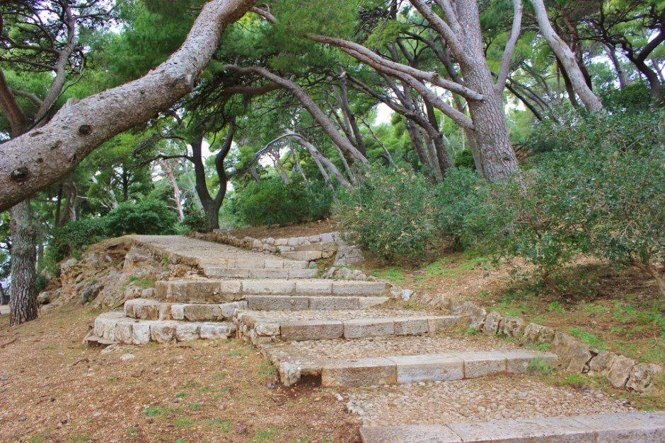 Dubrovnik nature walk trail