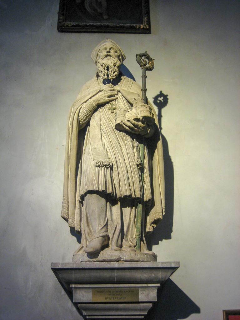 Saint Blaise, Patron Saint of Dubrovnik, Croatia