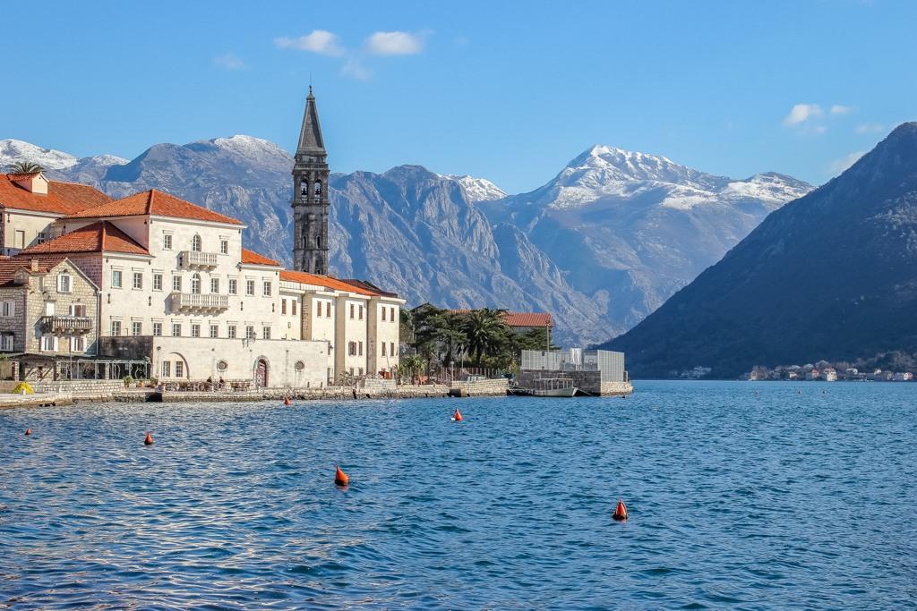 Town of Perast, Montenegro