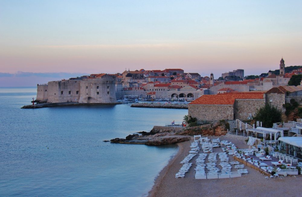Banje Beach, Dubrovnik, Croatia JetSettingFools.com
