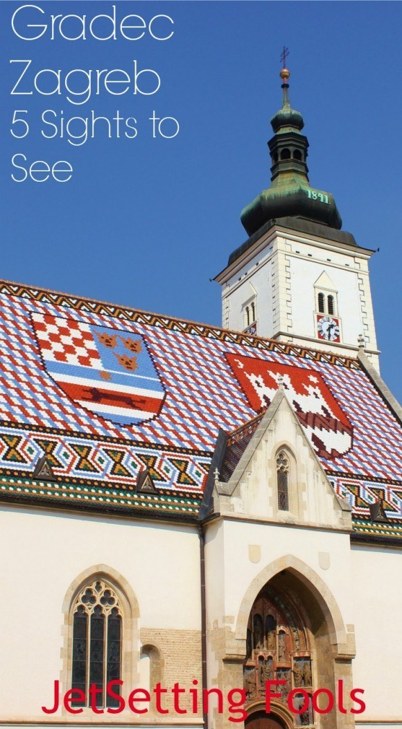 Gradec Zagreb sights to see